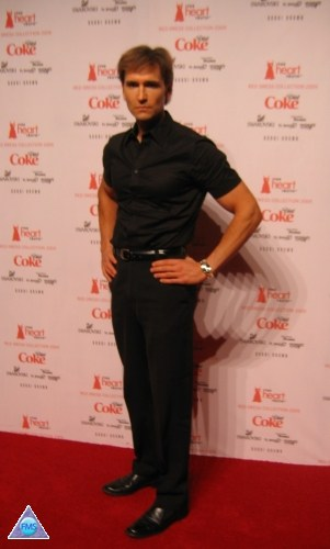 On the red carpet for an American Heart Association event