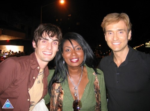 Carline & me with Tyson of All American Rejects at Tenjune