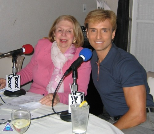 First time on Joan Hamburg's radio show