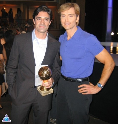 Gilles & me at the Bravo A-List Awards