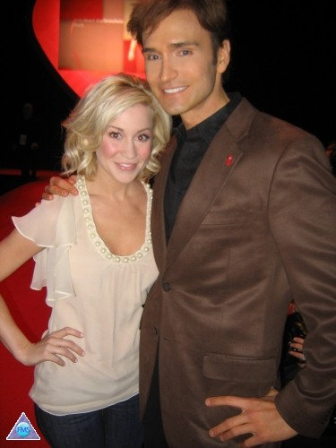Kellie Pickler & me at Fashion Week